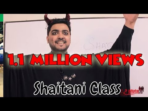 Shaitani Class (Devil's Meeting) | The Idiotz | Funny Sketch