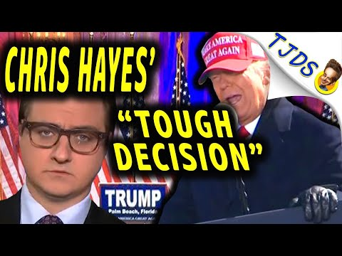 "Chris Hayes' ""Tough Decision"" Election Day!"