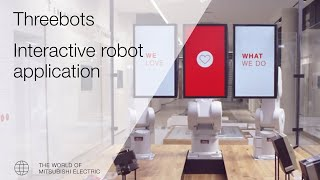 Mitsubishi Electric´s interactive robot application!