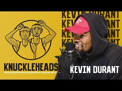 Kevin Durant joins Knuckleheads with Quentin Richardson & Darius Miles
