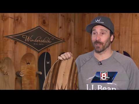 Winterstick snowboards handcrafted at Sugarloaf