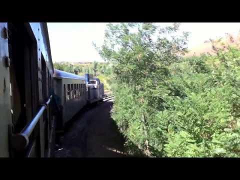 Schmalspurbahn Trenino Verde auf der Strecke Mandas - Arbatax