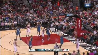 Minnesota Timberwolves vs Portland Trail Blazers   Full Highlights   April 9, 2016   NBA