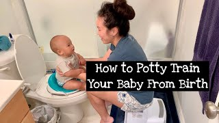 How We Potty Trained Our Baby from Birth! (Elimination Communication)