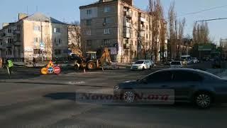 Многострадальный перекресток Крылова-Карпенко в Николаеве: «реконструкция» продолжается. Видео
