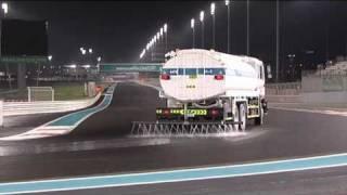 Pirelli wet F1 tyre test, Abu Dhabi