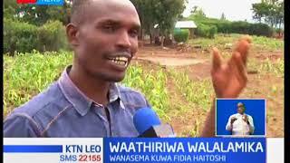 Waathiriwa wa mkasa wa Solai wasema fidia haitoshi