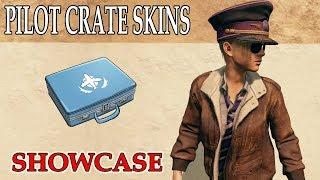 adca617c775f14 PILOT CRATE free skins Showcase [PlayerUnknown's Battlegrounds | PUBG]