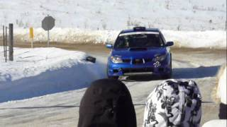 preview picture of video 'CRC Rally: Maniwaki Perce-Neige 2010'