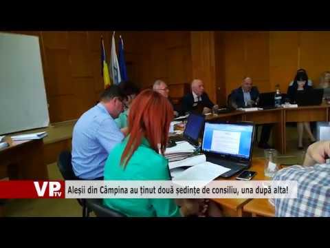 Aleșii din Câmpina au ținut două ședințe de consiliu, una după alta!
