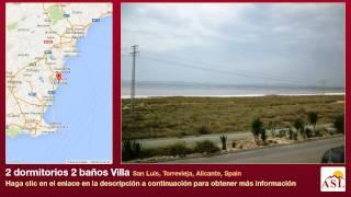 preview picture of video '2 dormitorios 2 baños Villa se Vende en San Luis, Torrevieja, Alicante, Spain'
