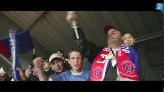 preview picture of video 'Les supporters de La Berrichonne de Châteauroux - Région Centre 2012'