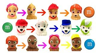 Paw Patrol Wrong Hats Match Colors Eat M&M