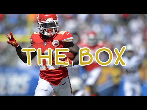 "Tyreek Hill ""The Box"" Roddy Ricch"