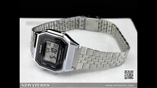 Casio Retro Digital Ladies Watches LA680WA 1DF, LA680WA