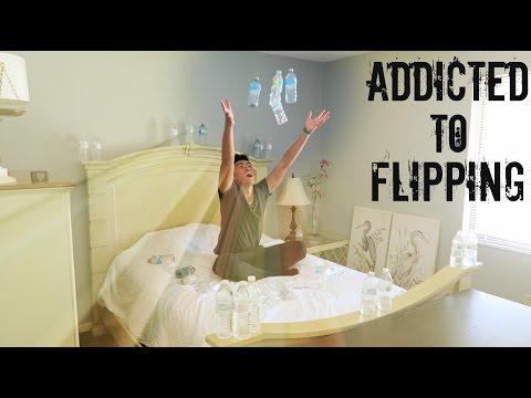 My Strange Addiction: Flipping Water Bottles