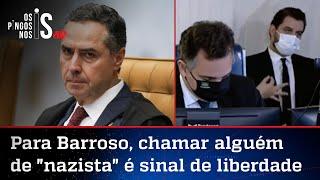 Barroso derruba decisão que mandou Twitter apagar críticas a Filipe Martins
