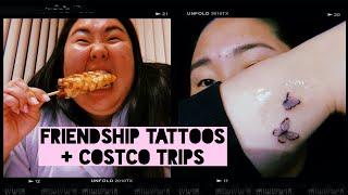 Friendship Tattoos + Costco Trips | Michelle Choi
