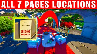 How to find all 7 pages of my love letter - New Fortnite Creative Hub Secret Quest