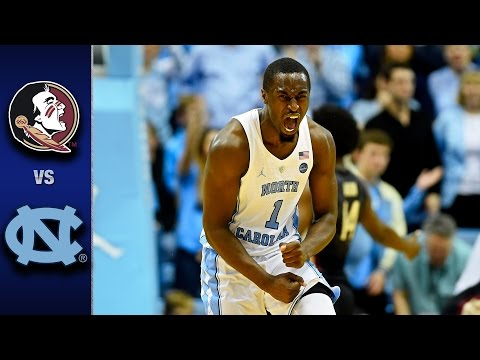 Florida State vs. North Carolina Men's Basketball Highlights (2016-17)