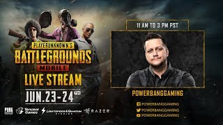 PUBG Mobile X Razer: Weekend Tournament with Powerbang Gaming
