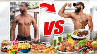 What I Used To Eat vs What I Eat Now! How I Started Eating Clean!