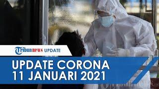 Update Covid-19 11 Januari, Pasien Sembuh Bertambah 7.715 dalam 24 Jam Terakhir