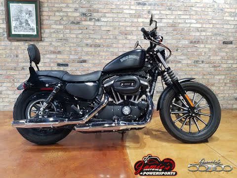2015 Harley-Davidson Iron 883™ in Big Bend, Wisconsin - Video 1