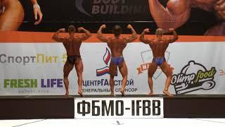 Категория Бодибилдинг до 80кг Чемпионат Мурманской обл  по Бодибилдингу и Фитнесу 2017