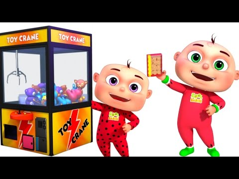 Five Little Babies Playing Claw Machine | Nursery Rhymes Collection | Kids Songs & Baby Rhymes