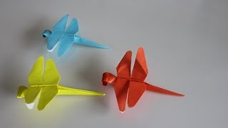 Origami Insect Dragonfly