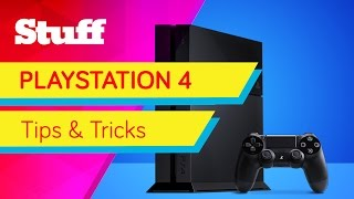 21 PS4 tips, tricks and hidden features