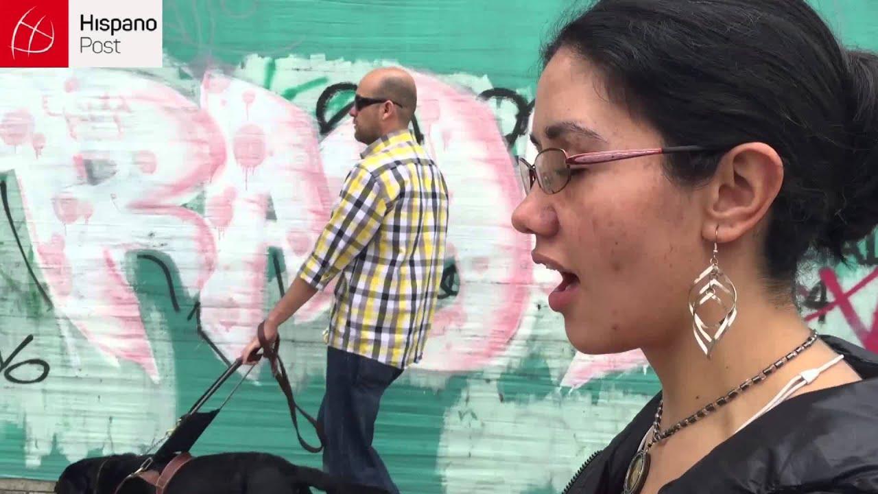 Lo ciegos en Colombia se sienten un cero a la izquierda