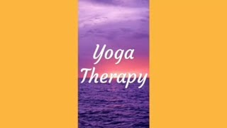 Yoga Therapy. Gift.