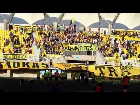 """Banderazo Previo al clásico 119"" Barra: Ultra Kanaria • Club: San Luis de Quillota"