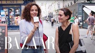 We Went To Paris And Asked 10 Women Their Fitness Secrets | BAZAAR x Paris
