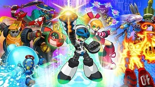 Mighty No. 9 All Bosses Fight