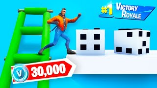 FIRST TO FINISH THIS FORTNITE BOARDGAME WINS 30,000 VBUCKS!