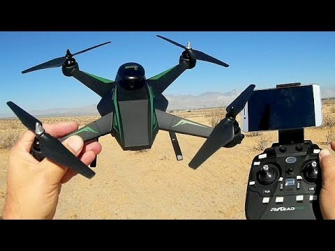 RC-136WGS 1080p HD GPS Camera Drone Flight Test Review