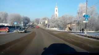 Вид на Воскресенскую церковь  г. Павловского Посада