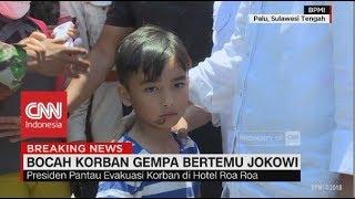 Permohonan Izrael, Korban Gempa yang Ingin Ikut Jokowi