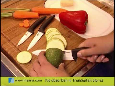 Cuchillos y pelador cerámico
