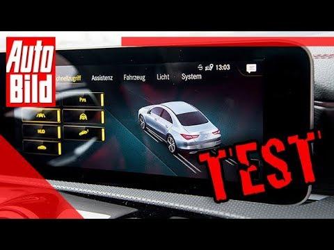 Mercedes CLA (2019): Connectivity-Check - MBUX - Infos