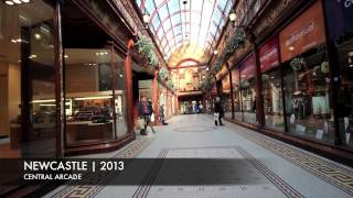 preview picture of video 'Newcastle city tour 2013'