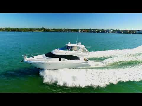 Sea Ray Cockpit Motor Yacht Series 540video