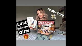 Last Minute Gift Ideas | Gifts Under $50 | For Adults & People Who Have Everything