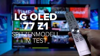 LG OLED Z1 im Test: Der beste Fernseher der Welt? | deutsch