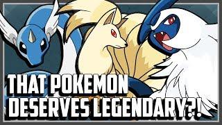 Top 10 Pokemon That Deserve Legendary!