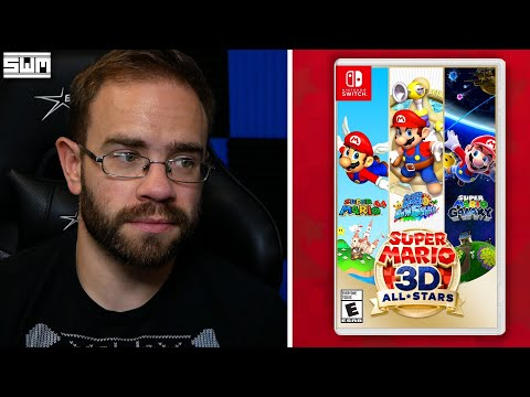 So About That Super Mario 3D All-Stars Collection…