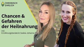 Chancen und Gefahren der Heilnahrung mit Ernährungsberaterin Saskia Johanna